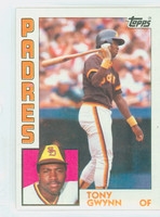 1984 Topps Baseball 251 Tony Gwynn San Diego Padres Near-Mint Plus