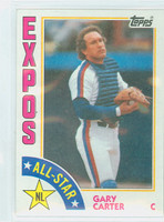 1984 Topps Baseball 393 Gary Carter AS Montreal Expos Near-Mint to Mint