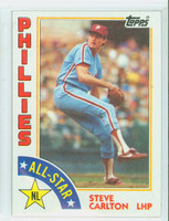 1984 Topps Baseball 395 Steve Carlton AS Philadelphia Phillies Near-Mint to Mint