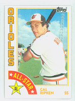 1984 Topps Baseball 400 Cal Ripken AS Baltimore Orioles Near-Mint to Mint