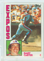 1984 Topps Baseball 450 Gary Carter Montreal Expos Near-Mint to Mint