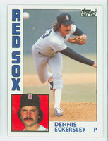 1984 Topps Baseball 745 Dennis Eckersley Boston Red Sox Near-Mint to Mint