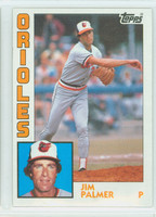 1984 Topps Baseball 750 Jim Palmer Baltimore Orioles Near-Mint to Mint