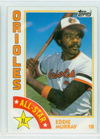 1984 Topps Baseball 397 Eddie Murray AS Baltimore Orioles Near-Mint to Mint