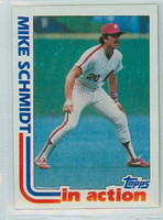 1982 Topps Baseball 101 Mike Schmidt IA Philadelphia Phillies Near-Mint to Mint
