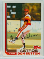 1982 Topps Baseball 305 Don Sutton Houston Astros Near-Mint to Mint