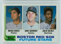 1982 Topps Baseball 381 Red Sox Rookies Near-Mint to Mint