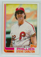 1982 Topps Baseball 480 Steve Carlton Philadelphia Phillies Near-Mint to Mint