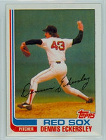 1982 Topps Baseball 490 Dennis Eckersley Boston Red Sox Near-Mint to Mint