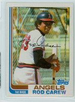 1982 Topps Baseball 500 Rod Carew California Angels Near-Mint to Mint