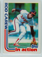1982 Topps Baseball 501 Rod Carew IA California Angels Near-Mint to Mint