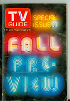 1970 TV Guide September 12 Fall Preview North Carolina edition Very Good to Excellent - No Mailing Label  [Wear and scuffing on cover; contents fine]