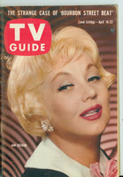 1960 TV Guide Apr 16 Ann Southern Eastern New England edition Excellent to Mint - No Mailing Label  [Lt wear on cover, ow clean]