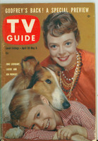 1960 TV Guide Apr 30 Lassie Illinois edition Excellent - No Mailing Label  [Lt wear and scuffing on cover, contents fine]