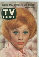 1960 TV Guide Jul 16 Lucille Ball Wichita edition Very Good - No Mailing Label  [Wear and scuffing on cover and binding, contents fine]