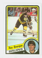 1984-85 Topps Hockey Ray Bourque Boston Bruins Near-Mint to Mint