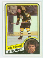 1984-85 Topps Hockey Mike O' Connell Boston Bruins Near-Mint to Mint