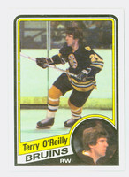 1984-85 Topps Hockey Terry O' Reilly Single Print Boston Bruins Near-Mint to Mint