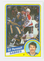 1984-85 Topps Hockey Gil Perreault Buffalo Sabres Near-Mint to Mint