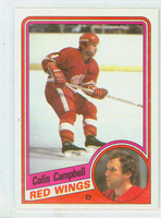 1984-85 Topps Hockey Colin Campbell Single Print Detroit Red Wings Near-Mint to Mint
