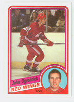 1984-85 Topps Hockey John Ogrodnick Detroit Red Wings Near-Mint to Mint