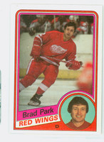 1984-85 Topps Hockey Brad Park Detroit Red Wings Near-Mint to Mint
