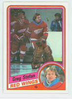 1984-85 Topps Hockey Greg Steffan ROOKIE Single Print Detroit Red Wings Near-Mint to Mint