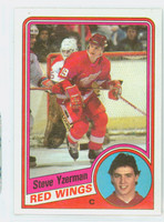 1984-85 Topps Hockey Steve Yzerman ROOKIE Detroit Red Wings Excellent to Mint