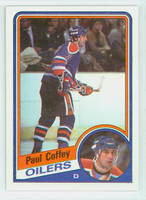 1984-85 Topps Hockey Paul Coffey Edmonton Oilers Excellent to Mint