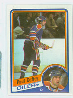 1984-85 Topps Hockey Paul Coffey Edmonton Oilers Near-Mint