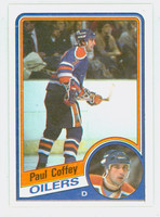 1984-85 Topps Hockey Paul Coffey Edmonton Oilers Near-Mint to Mint