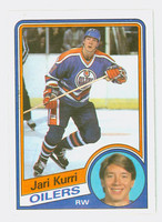 1984-85 Topps Hockey Jari Kurri Edmonton Oilers Near-Mint to Mint