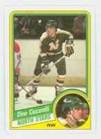 1984-85 Topps Hockey Dino Ciccarelli Minnesota North Stars Near-Mint to Mint