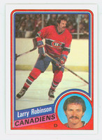1984-85 Topps Hockey Larry Robinson Montreal Canadiens Near-Mint to Mint