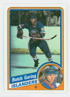 1984-85 Topps Hockey Butch Goring Single Print New York Islanders Near-Mint to Mint