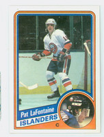 1984-85 Topps Hockey Pat LaFontaine ROOKIE Single Print New York Islanders Near-Mint to Mint