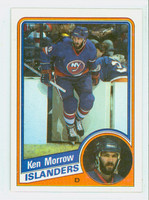 1984-85 Topps Hockey Ken Morrow New York Islanders Near-Mint to Mint