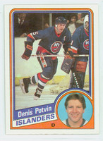 1984-85 Topps Hockey Denis Potvin New York Islanders Near-Mint to Mint