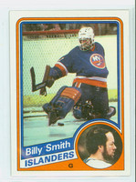 1984-85 Topps Hockey Billy Smith Single Print New York Islanders Near-Mint to Mint