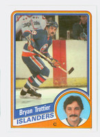 1984-85 Topps Hockey Bryan Trottier New York Islanders Near-Mint to Mint