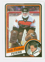 1984-85 Topps Hockey Bob Froese Philadelphia Flyers Near-Mint to Mint