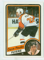 1984-85 Topps Hockey Dave Poulin ROOKIE Philadelphia Flyers Near-Mint to Mint