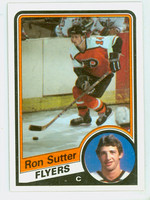 1984-85 Topps Hockey Ron Sutter ROOKIE Philadelphia Flyers Near-Mint to Mint