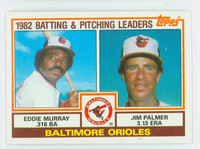 1983 Topps Baseball 21 Orioles Leaders Near-Mint to Mint
