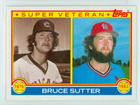 1983 Topps Baseball 151 Bruce Sutter Super Vet St. Louis Cardinals Near-Mint to Mint