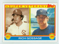 1983 Topps Baseball 241 Rich Gossage Super Vet New York Yankees Near-Mint to Mint