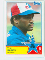 1983 Topps Baseball 403 Tim Raines All-Star Montreal Expos Near-Mint to Mint