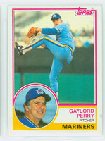 1983 Topps Baseball 463 Gaylord Perry Seattle Mariners Near-Mint to Mint