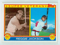 1983 Topps Baseball 501 Reggie Jackson Super Vet California Angels Near-Mint to Mint