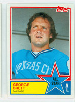 1983 Topps Baseball 388 George Brett All-Star Kansas City Royals Near-Mint to Mint
